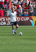 02 June 2013: U.S Women's National Soccer Team defender Christie Rampone #3 in action during an International Friendly soccer match between the U.S. Women's National Soccer Team and the Canadian Women's National Soccer Team at BMO Field in Toronto, Ontario.<br /> The U.S. Women's National Team Won 3-0.
