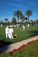 Croquet players, Palm Beach, Florida