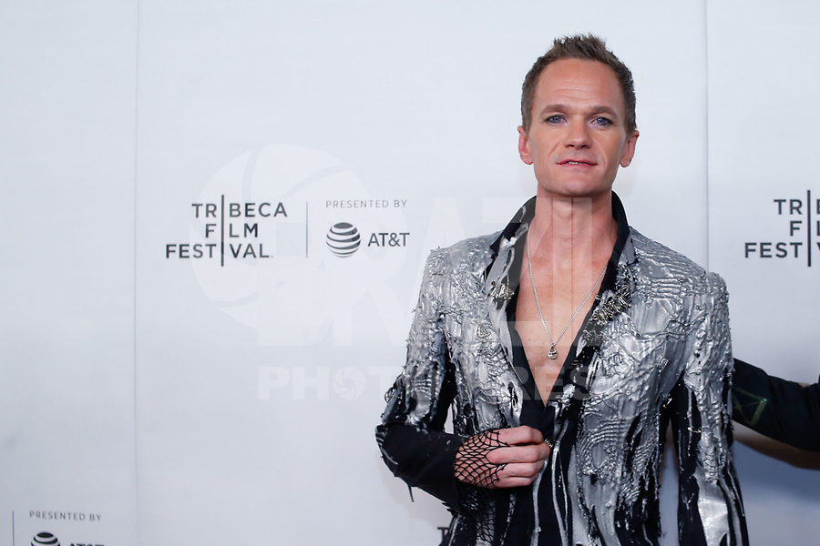 Neil Patrick Harris and David Burtka during the red carpet of the Wig movie at the Tribeca Film Festival at Spring Studio in New York this Saturday, May 04. (Photo: Vanessa Carvalho / Brazil Photo Press)