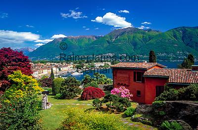 Schweiz, Tessin, Ascona am Lago Maggiore | Switzerland, Ticino, Ascona at Lago Maggiore