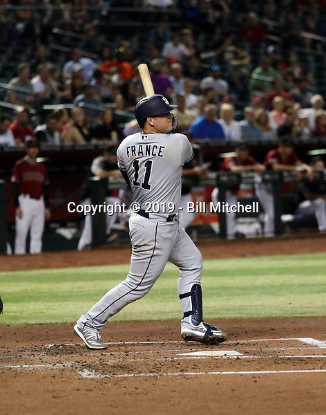 Ty France - 2019 San Diego Padres (Bill Mitchell)