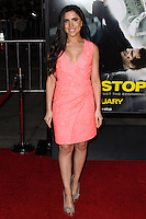 """WESTWOOD, CA, USA - FEBRUARY 24: Caren Brooks at the World Premiere Of Universal Pictures And Studiocanal's """"Non-Stop"""" held at Regency Village Theatre on February 24, 2014 in Westwood, Los Angeles, California, United States. (Photo by Xavier Collin/Celebrity Monitor)"""