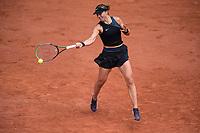 6th June 2021; Roland Garros, Paris France; French Open tennis championships day 8;  Paula Badosa ( ESP )