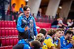 Daniel Eblen (Trainer HSG Konstanz) beim Spiel HSG Konstanz – HBW Balingen-Weilstetten beim BGV Handball Cup 2020.<br /> <br /> Foto © PIX-Sportfotos *** Foto ist honorarpflichtig! *** Auf Anfrage in hoeherer Qualitaet/Aufloesung. Belegexemplar erbeten. Veroeffentlichung ausschliesslich fuer journalistisch-publizistische Zwecke. For editorial use only.