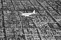 Vista a vuelo de pájaro de Buenos Aires, 1937