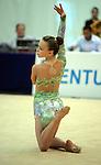 Rhythmic Gymnastics. Individual Apparatus Championships 2008.<br /> Photos by Alan Edwards