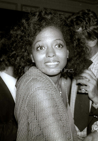 Diana Ross at Studio 54 1978<br /> Photo By Adam Scull/PHOTOlink/MediaPunch