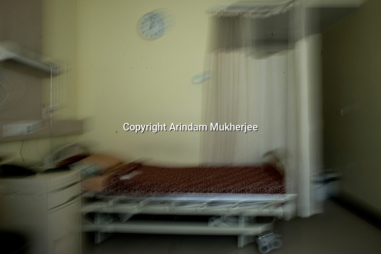 Dipmalya (Diya) nightmares about the nursing home bed where he was admitted for 3 weeks after he was molestated by his two teachers at his school, Kolkata, India. Arindam Mukherjee