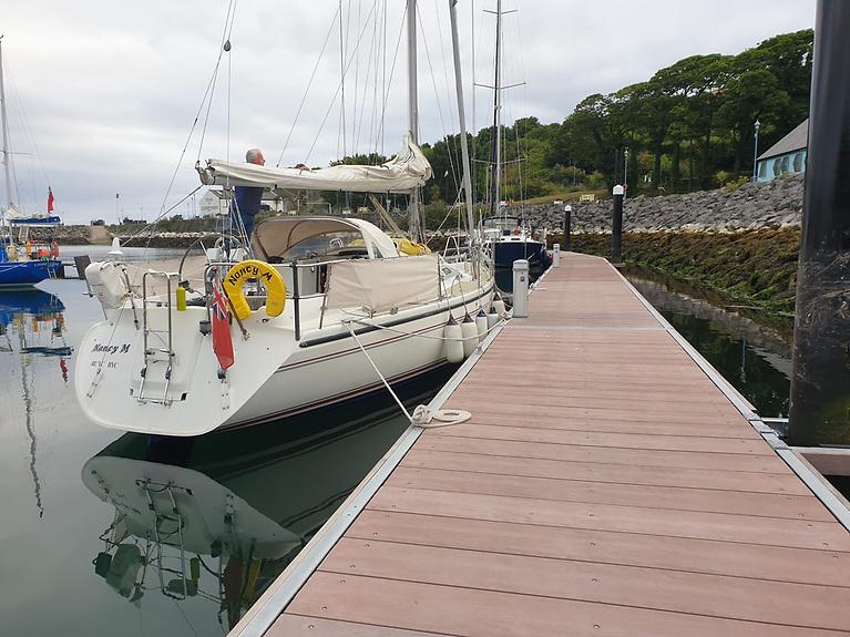 New Pontoon at Antrim's Glenarm Marina Increases Berths to 50 Boats