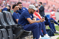 SANDY, UT - JUNE 10: John Brooks of the United States during a game between Costa Rica and USMNT at Rio Tinto Stadium on June 10, 2021 in Sandy, Utah.