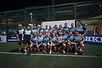 Natixis HKFC are the Shield winners during GFI HKFC Rugby Tens 2016 on 07 April 2016 at Hong Kong Football Club in Hong Kong, China. Photo by Juan Manuel Serrano / Power Sport Images