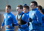 St Johnstone Training….27.12.16<br />Blair Alston pictured in training this morning at McDiarmid Park ahead of tomorrow's game against Rangers<br />Picture by Graeme Hart.<br />Copyright Perthshire Picture Agency<br />Tel: 01738 623350  Mobile: 07990 594431