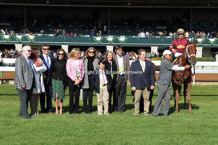 LEXINGTON, KY - APRIL 09:  #2 Sheer Drama wins the Madison Stakes at Keeneland on April 9, 2016 in Lexington, Kentucky. (Photo by Jessica Morgan/Eclipse Sportswire/Getty Images)