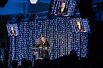 © Joel Goodman - 07973 332324 . 05/03/2015 .  Midland Hotel , Manchester , UK . FRAN ECCLES-BECH , Chief Executive of Manchester Law Society , speaks as Louise Straw looks on . The Manchester Legal Awards 2015 . Photo credit : Joel Goodman