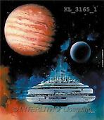 Interlitho, Luis, FANTASY, paintings, spacelab, planet, KL, KL3165/1,#fantasy# illustrations, pinturas