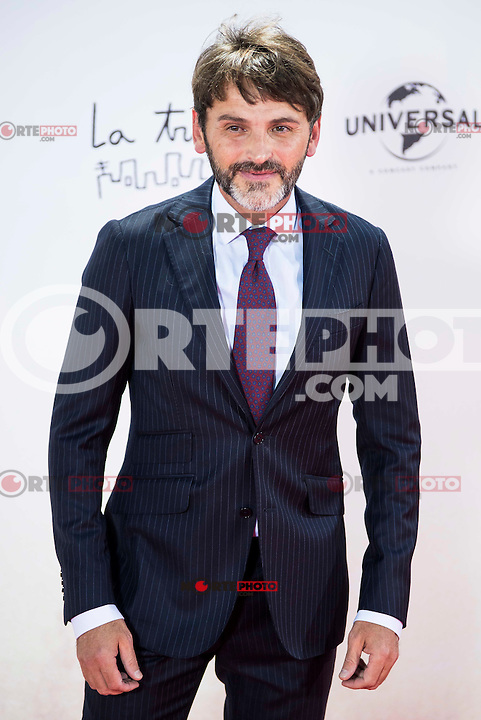 """Fernando Tejero during the premiere of the spanish film """"Un Monstruo Viene a Verme"""" of J.A. Bayona at Teatro Real in Madrid. September 26, 2016. (ALTERPHOTOS/Borja B.Hojas) NORTEPHOTO.COM"""