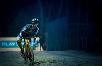 Lars van der Haar (NED/Telenet Fidea Lions) in the sandbox<br /> <br /> men's race<br /> 44th Superprestige Diegem (BEL) 2018<br /> ©kramon