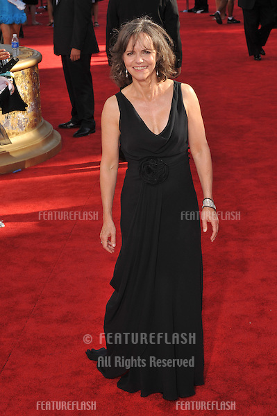 Sally Field at the 61st Primetime Emmy Awards at the Nokia Theatre L.A. Live..September 20, 2009  Los Angeles, CA.Picture: Paul Smith / Featureflash