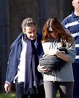 Carla Bruni et Nicolas Sarkozy<br /> <br /> <br /> PHOTO :  <br />  -  Agence quebec Presse
