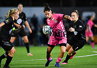 forward Ylenia Carabott of Sporting Charleroi pictured in action during a female soccer game between Sporting Charleroi and FC Femina White Star Woluwe on the second matchday of the 2020 - 2021 season of Belgian Scooore Women s SuperLeague , friday 4 th of September 2020  in Marcinelle , Belgium . PHOTO SPORTPIX.BE | SPP | DAVID CATRY