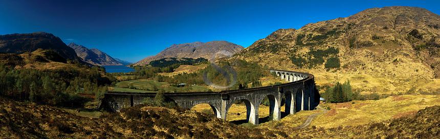 The Glenfinnan Viaduct, Glenfinnan, Lochaber