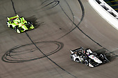 Graham Rahal, Rahal Letterman Lanigan Racing Honda, Simon Pagenaud, Team Penske Chevrolet