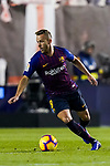 Arthur Henrique Ramos de Oliveira Melo of FC Barcelona in action during the La Liga 2018-19 match between Rayo Vallecano and FC Barcelona at Estadio de Vallecas, on November 03 2018 in Madrid, Spain. Photo by Diego Gouto / Power Sport Images