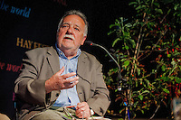 Tuesday 27 May 2014, Hay on Wye, UK<br /> Pictured: Dai Smith <br /> Re: The Hay Festival, Hay on Wye, Powys, Wales UK.