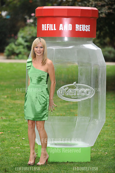 Amanda Holden launches the Kenco Eco Refill Waste Less challenge in Russell Square, London. 05/10/2009   Picture by: Steve Vas / Featureflash