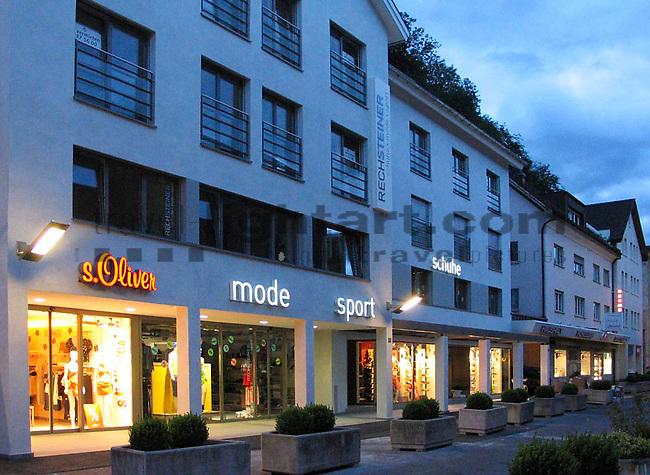 Schuh, Sport und Mode Rechsteiner in Vaduz..s.Oliver..Photo: Paul Trummer