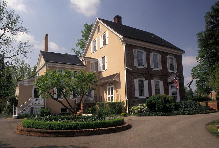 AJ4264, Dover, Delaware, Governor's House in the capital city of Dover in the state of Delaware.