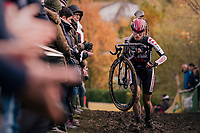 later winner Alice Maria Arzuffi (ITA/Steylaert 777)<br /> <br /> Women's race<br /> Superprestige Asper-Gavere 2018 (BEL)