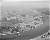"ackroyd-11874-03. ""Port of Portland. Aerials. August 15, 1963"", ""Rivergate area"""