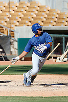 Christian Lara - Los Angeles Dodgers 2009 Instructional League. .Photo by:  Bill Mitchell/Four Seam Images..