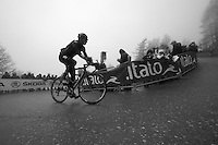 2013 Giro d'Italia.stage 14: Cervere - Bardonecchia.168km..Christian Knees (DEU) in the last corner up the final climb