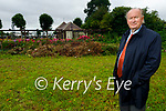 Cllr Jim Finucane standing at the proposed site of the Columbarium Wall to be erected in Rath Graveyard