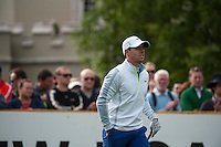 21.05.2015. Wentworth, England. BMW PGA Golf Championship. Round 1. Defending Champion Rory Mcilroy [NIR] on the first tee.  The first round of the 2015 BMW PGA Championship from The West Course Wentworth Golf Club