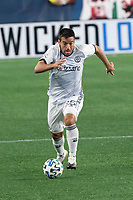 FOXBOROUGH, UNITED STATES - AUGUST 20: Ilsinho #25 of Philadelphia Union during a game between Philadelphia Union and New England Revolution at Gilette on August 20, 2020 in Foxborough, Massachusetts.
