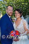 Ciara Murphy, Gneeveguilla, daughter of Tim and Nora, and Daniel O'Riordan, Rathanane, Kilcummin, son of Jim and Margaret, who were married in Gneeveguilla chuch on Saturday, Fr Pat O'Donnell officiated at the ceremony, best man was Neil O'Riordan, groomsmen were James O'Riordan, and Timmy O'Leary, bridesmaids were Niamh Murphy, Siobhan Moynihan and Sarah Carroll, flower girl was Jasmine O'Riordan, page boys were Cathal and Daire Moynihan, the reception was held in the Killarney Oaks Hotel and the couple will reside in Meentogues,