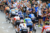 12th September 2021: Trento, Trentino–Alto Adige, Italy: UEC Road European Mens Elite Cycling Championships; Warren Barguil (FRA) in the pack