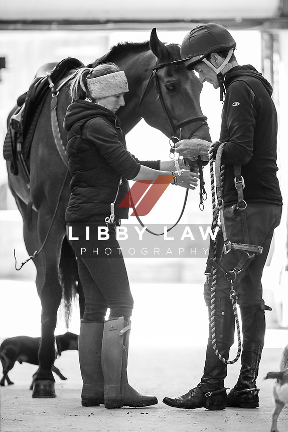 YARD VISIT: Sir Mark Todd (LEONIDAS II) THE LEAD UP TO 2014 GBR-Mitsubishi Motors Badminton CCI4* (Saturday 3 May) CREDIT: Libby Law COPYRIGHT: LIBBY LAW PHOTOGRAPHY - NZL