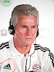 GUANGZHOU, GUANGDONG - JULY 26:  Head coach Jupp Heynckes of Bayern Munich attends a press conference ahead the friendly match against VfL Wolfsburg as part of the Audi Football Summit 2012 on July 26, 2012 at the Westin hotel in Guangzhou, China. Photo by Victor Fraile / The Power of Sport Images