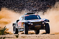 6th January 2021; Wadi Al Dawasir to Riyadh, Saudia Arabia; Dakar 2021 Rally, stage 4;  300 Sainz Carlos (esp), Cruz Lucas (esp), Mini, X-Raid Mini JCW Team, Auto, action during the 4th stage of the Dakar 2021 between Wadi Al Dawasir and Riyadh, in Saudi Arabia on January 6, 2021