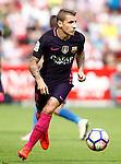 FC Barcelona's Lucas Digne during La Liga match. September 24,2016. (ALTERPHOTOS/Acero)