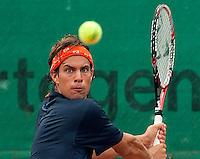 12-8-09, Den Bosch,Nationale Tennis Kampioenschappen, 1e ronde,   Peter Lucassen