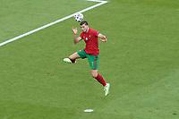 Ruben Dias (Portugal) Kopfballabwehr<br /> - Muenchen 19.06.2021: Deutschland vs. Portugal, Allianz Arena Muenchen, Euro2020, emonline, emspor, <br /> <br /> Foto: Marc Schueler/Sportpics.de<br /> Nur für journalistische Zwecke. Only for editorial use. (DFL/DFB REGULATIONS PROHIBIT ANY USE OF PHOTOGRAPHS as IMAGE SEQUENCES and/or QUASI-VIDEO)