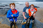 Conor, Brendan and David Fitzmaurice enjoying the afternoon on Ballybunion beach on Sunday.
