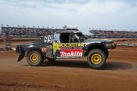 Mar. 19, 2011; Chandler, AZ, USA;  LOORRS pro four driver Kyle Leduc during round one at Firebird International Raceway. Mandatory Credit: Mark J. Rebilas-US PRESSWIRE