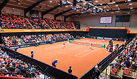 Den Bosch, The Netherlands, Februari 10, 2019,  Maaspoort , FedCup  Netherlands - Canada, doubles match Sunday : Demi Schuurs and Bibiane Schoofs (NED)<br /> Photo: Tennisimages/Henk Koster