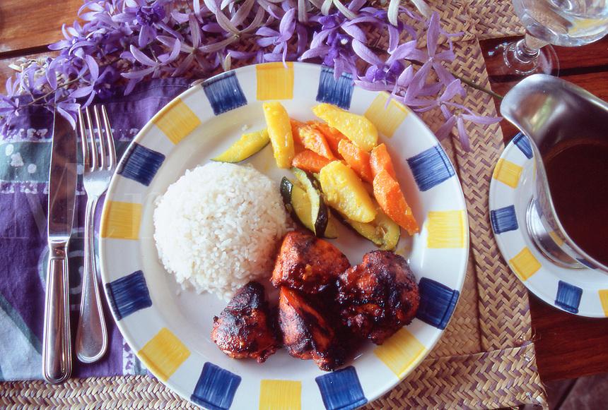 Indian chicken tandoori Zanzibari style